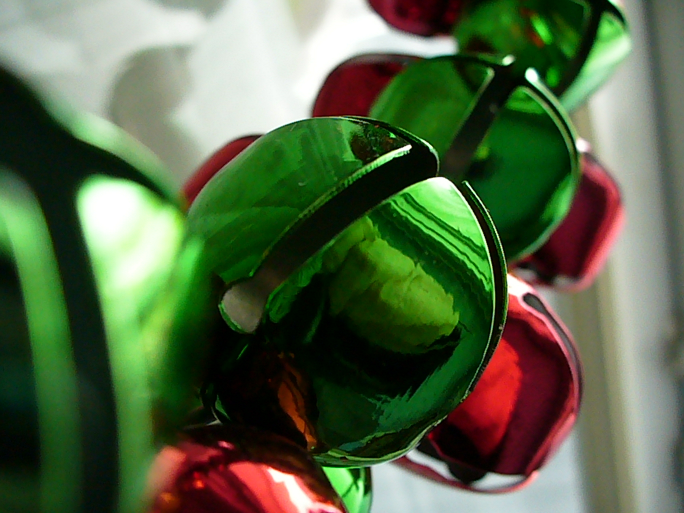 red and green bells